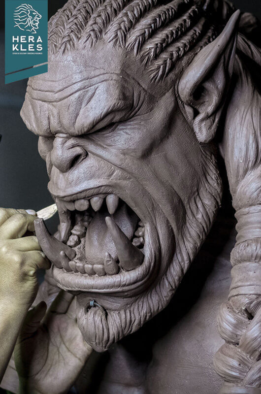 Durotan - World Of Warcraft Sculpture Herakles Estudio