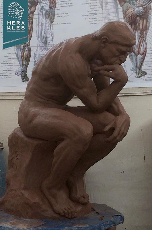 El Pensador Estatua - Herakles Estudio