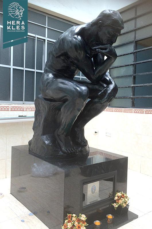 Escultura El Pensador Estatua Herakles Estudio