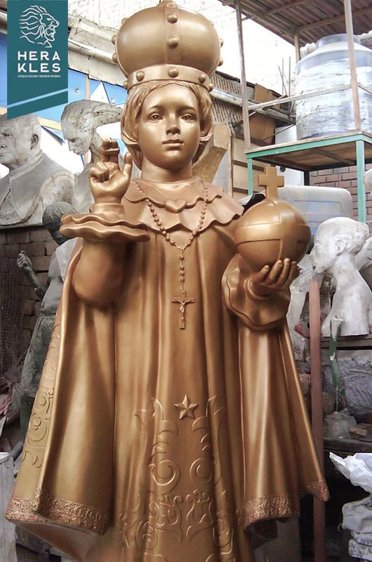 Niño Jesus de Praga Estatuas Herakles Estudio