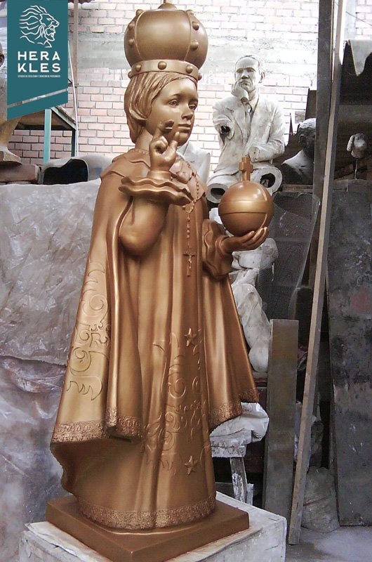 Escultura Niño Jesus de Praga