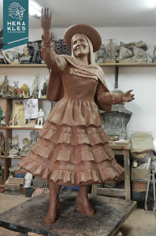 Alicia Delgado Estatuas Herakles Estudio