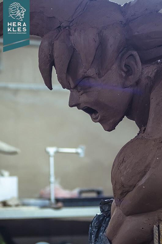 Goku DBS - Life Size Sculpture - Herakles Estudio
