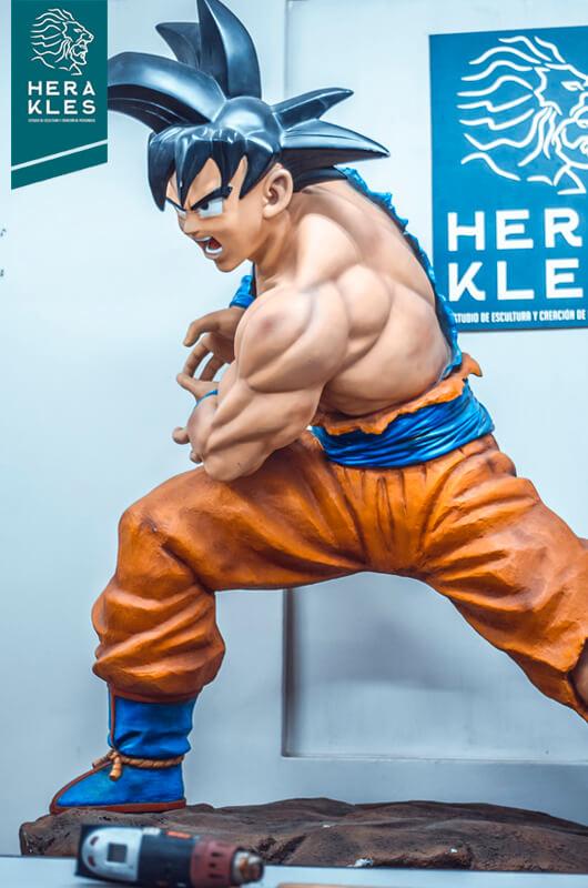 Goku DBZ - Life Size Sculpture - Herakles Estudio