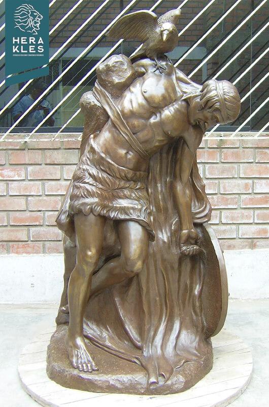 Mitología Irlandesa estatua escultura Herakles Estudio