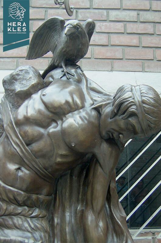 Mitología Irlandesa estatua escultura - Herakles Estudio