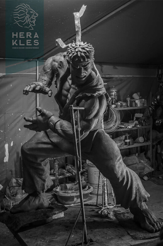 Ryu - Street Fighter - Life size sculpture Herakles Estudio