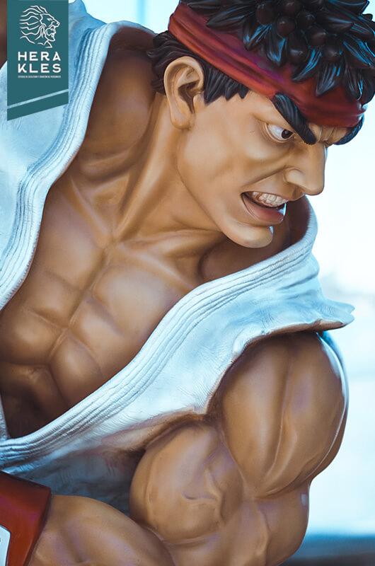 Ryu Street Fighter Escultura