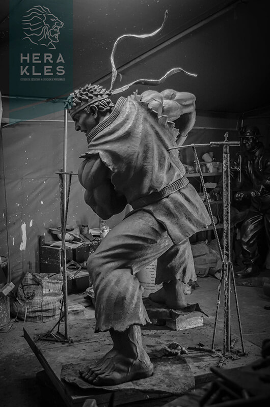 Ryu - Street Fighter - Life size sculpture - Herakles Estudio