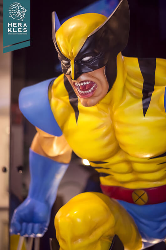 Wolverine sculpture Xmen - Herakles Estudio escultura comics