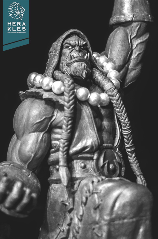 World of Warcraft - Thrall sculpture - Herakles Estudio
