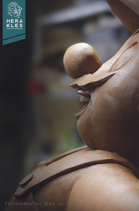 Mario Bros sculpture statue - Herakles Estudio