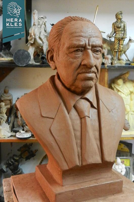 Bustos escultura - Herakles Estudio de Escultura